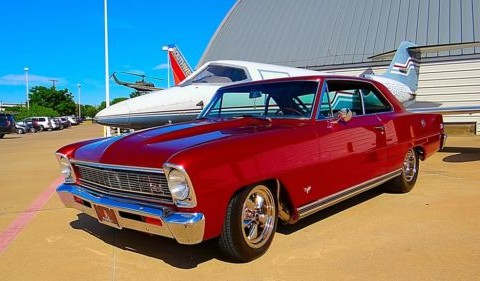 1966 Chevrolet Nova Custom Hot Rod 427/460cid/640hp Street Machine for sale