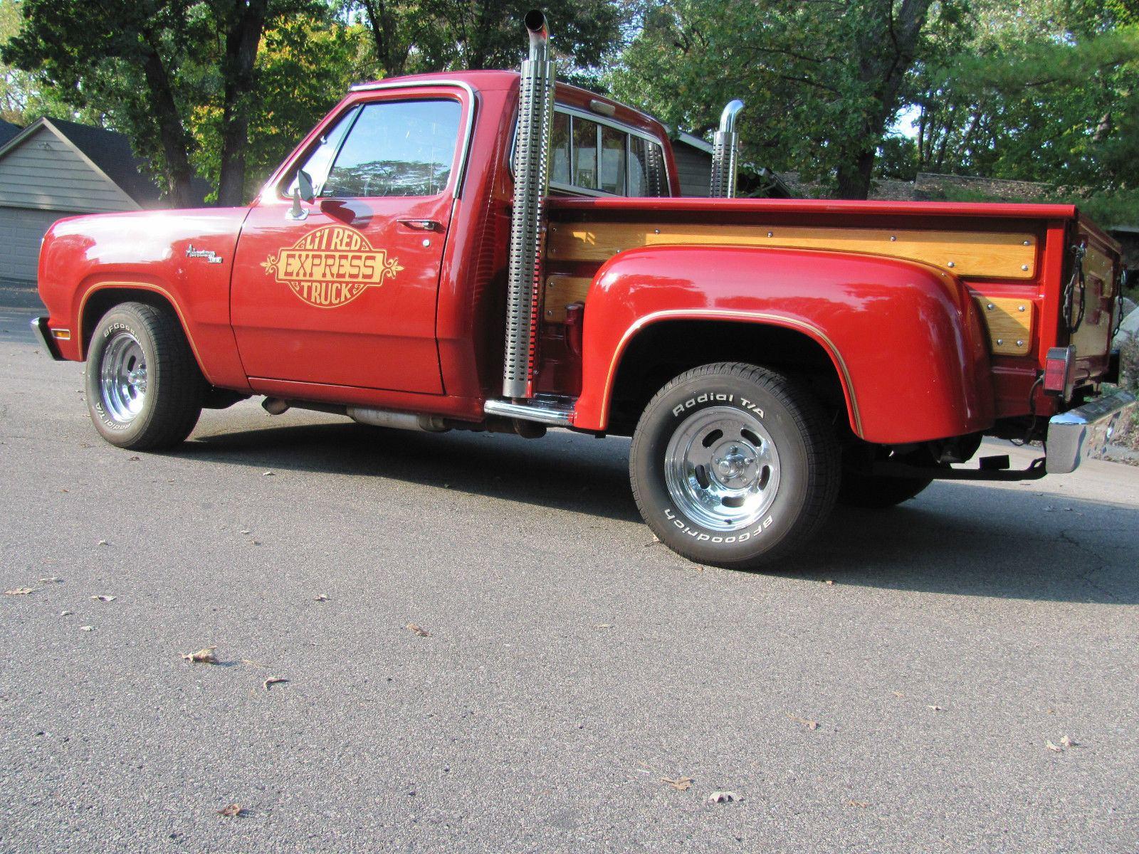 1979 dodge pickup little red express truck magazine cars for sale 2015. Black Bedroom Furniture Sets. Home Design Ideas