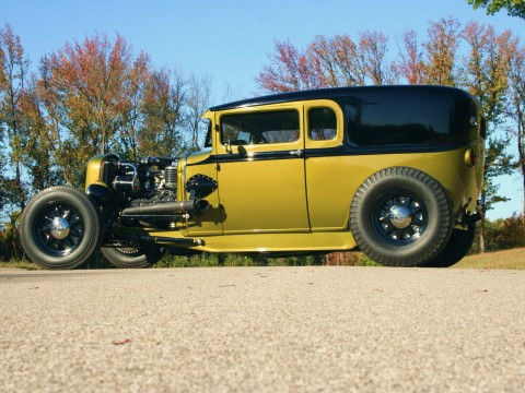 1931 Ford Model A Custom Supercharged Flathead WAGON for sale
