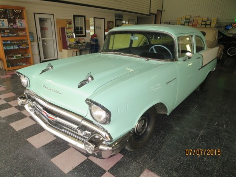 1957 Chevrolet 150 Sedan; 2 DOOR for sale