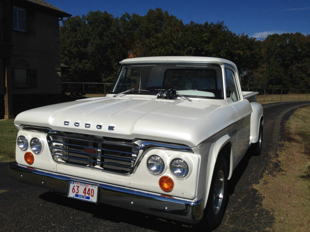 Steering Wheel Restoration >> 1963 Dodge D100 Pickup for sale