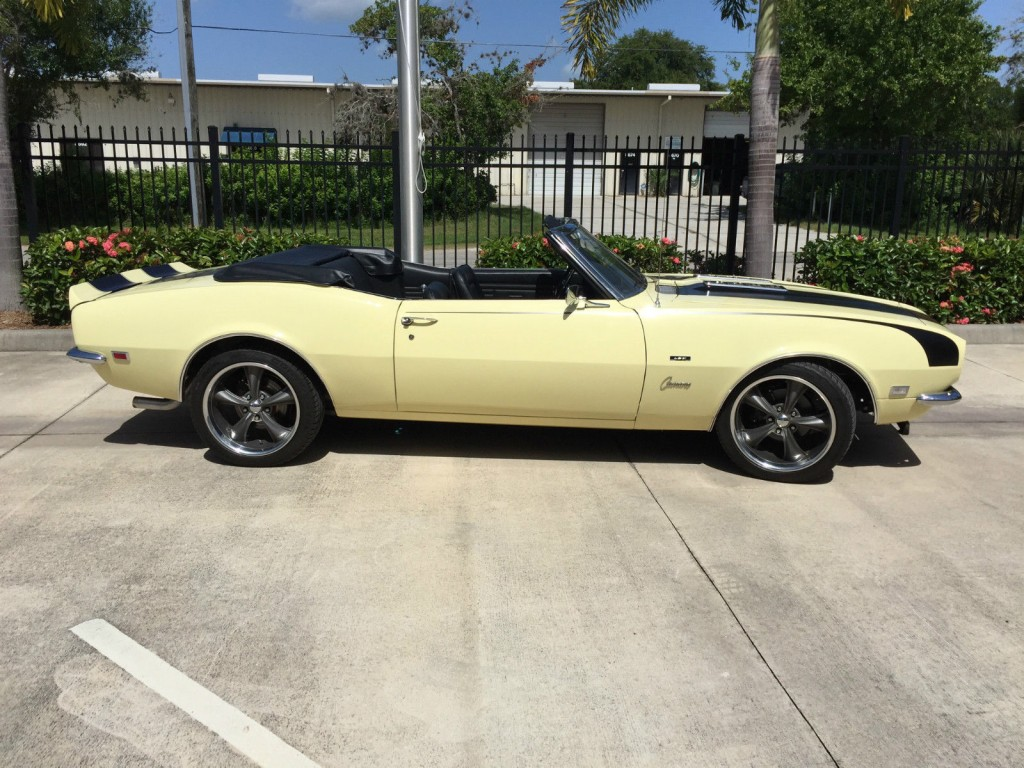 1968 chevrolet camaro convertible rs ss ls2 efi engine for. Black Bedroom Furniture Sets. Home Design Ideas