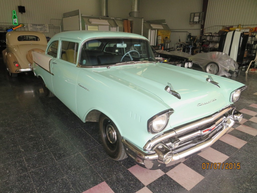 1957 chevrolet 150 sedan 2 door for sale. Black Bedroom Furniture Sets. Home Design Ideas