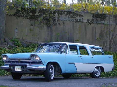 1957 Plymouth V/8 Station Wagon for sale