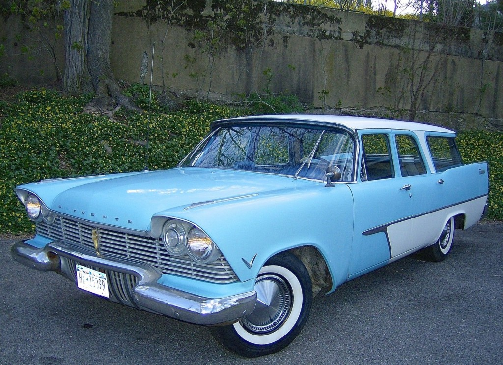 1957 Plymouth V 8 Station Wagon For Sale