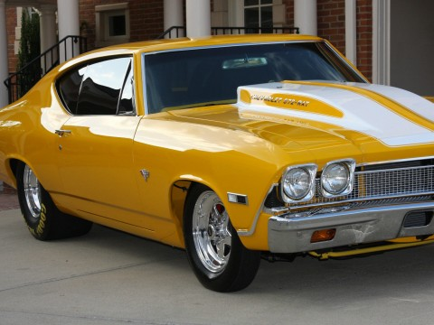 1968 Chevrolet Chevelle Twin Supercharged 582 BBC, Frame Off Restoration for sale