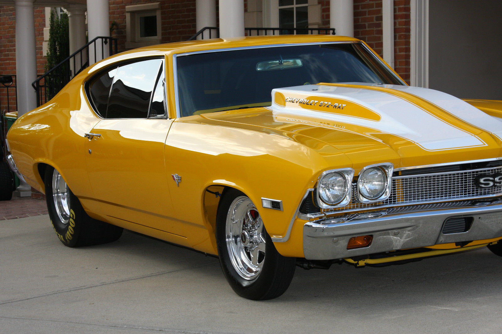 1968 Chevrolet Chevelle Twin Supercharged 582 Bbc Frame