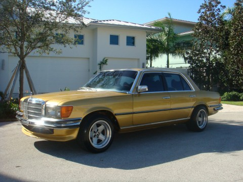 1977 Mercedes 280 se 4 Speed Euro Show car for sale