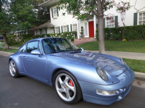 1995 Porsche 993 Coupe Horizon Blue/midnight blue for sale