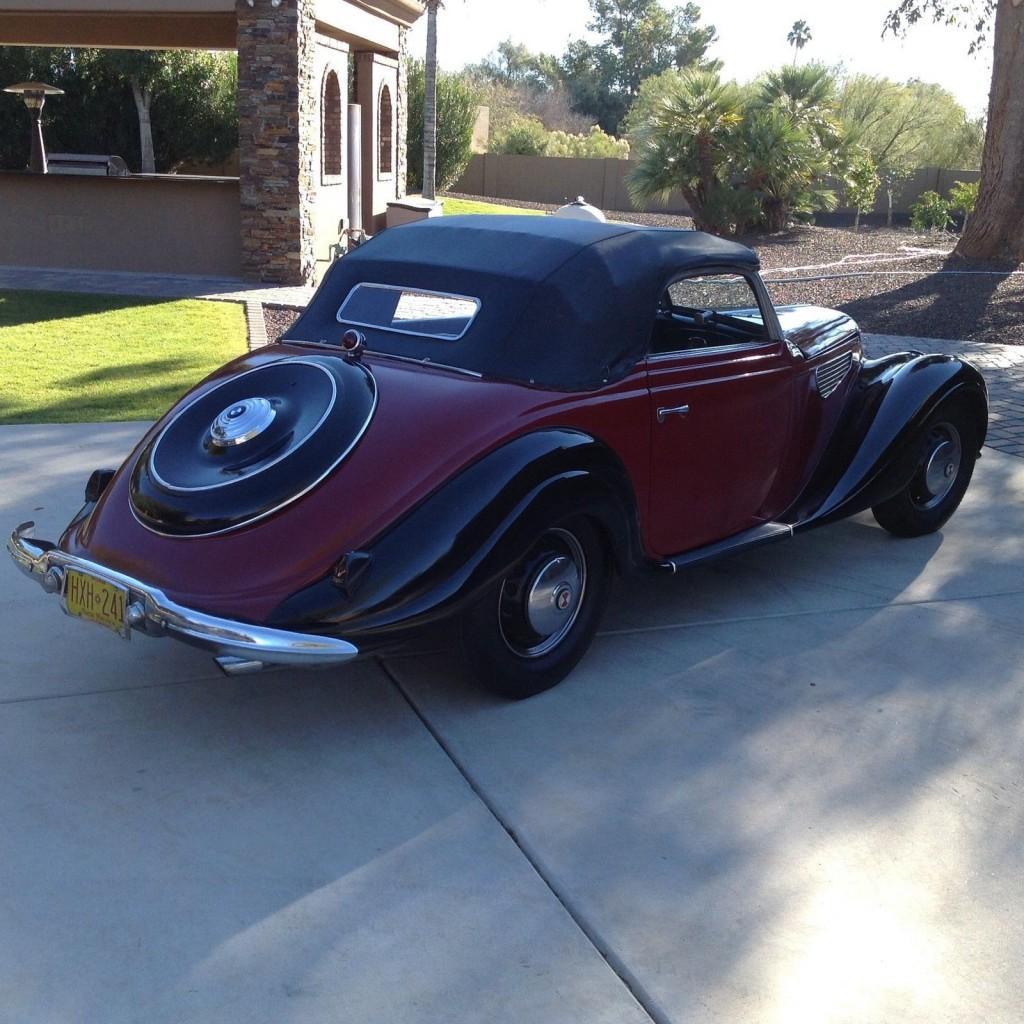 1952 bmw emw 327 2 cabriolet for sale. Black Bedroom Furniture Sets. Home Design Ideas