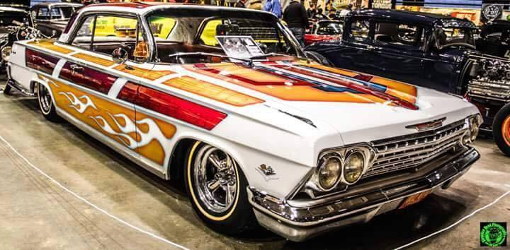 1962    Chevrolet    Impala    SS Custom 327  4    speed    for sale