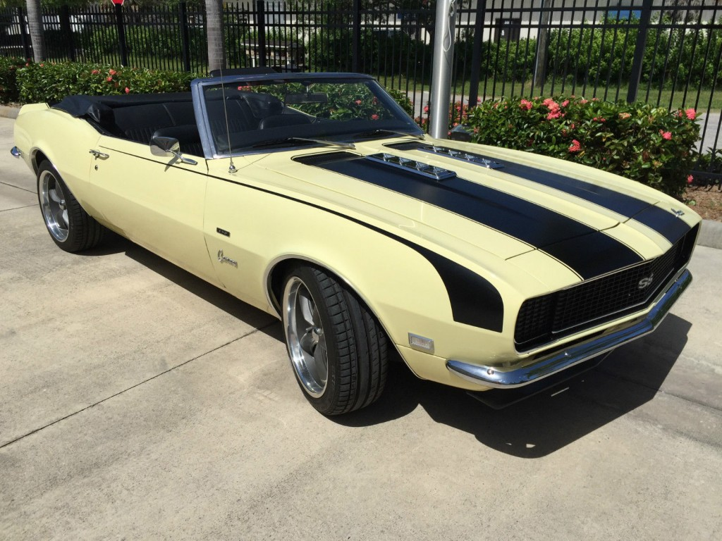 2016 Corvette Exhaust >> 1968 Chevrolet Camaro Convertible RS/SS LS2 for sale