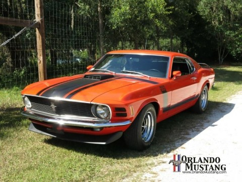 1970 Ford Mustang Boss 302 Calypso Coral 4 Speed Low Mileage for sale