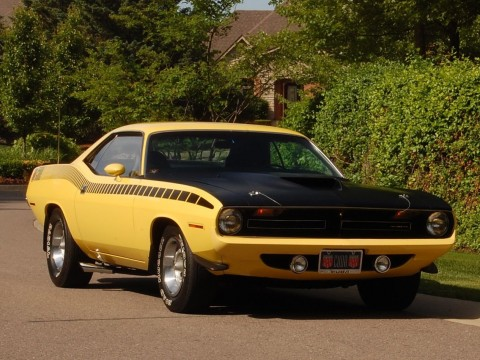 1970 Plymouth Barracuda AAR Cuda 340 SIX PACK 4 Speed for sale