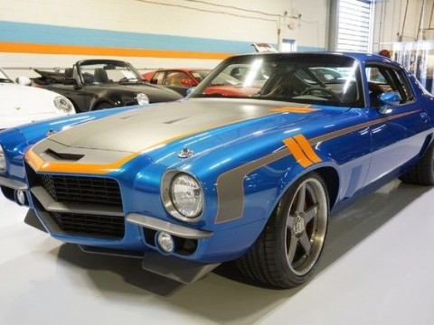 1971 Chevrolet Camaro Brute Force Pro Touring Mast LS7 T56 for sale