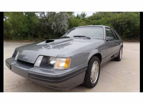 1985 ford mustang svo all original for sale. Black Bedroom Furniture Sets. Home Design Ideas