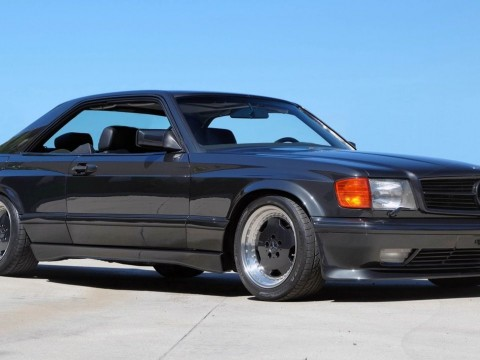 1990 Mercedes Benz 560sec AMG 6.0litre 4 Valve Wide Body for sale