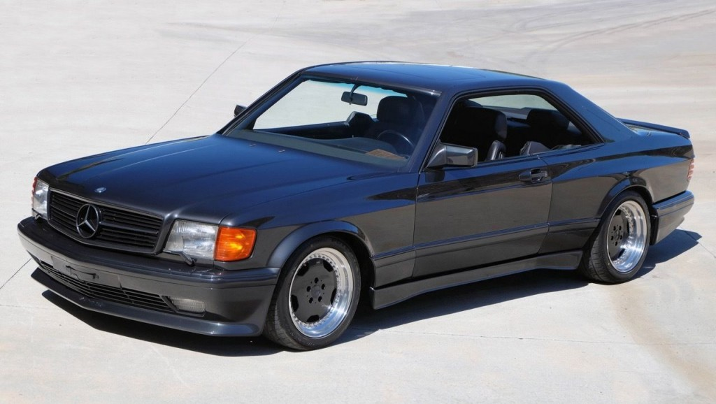 1990 mercedes benz 560sec amg 4 valve wide body. Black Bedroom Furniture Sets. Home Design Ideas