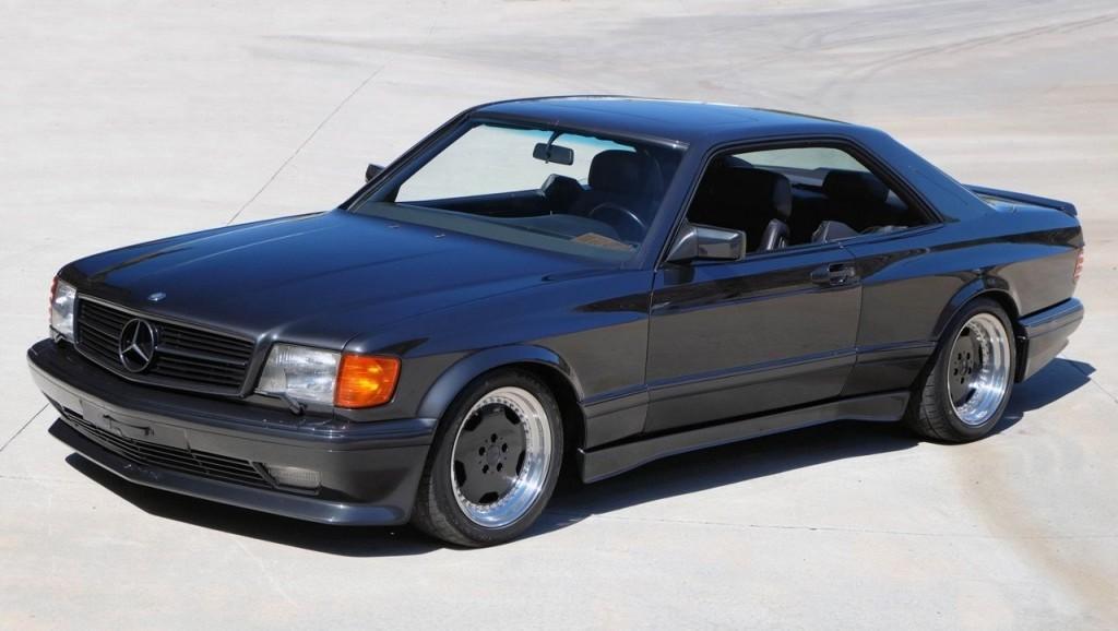 1990 mercedes benz 560sec amg 4 valve wide body. Black Bedroom Furniture Sets. Home Design Ideas