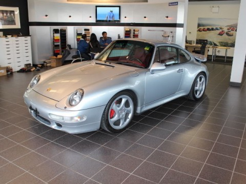 1996 Porsche 911 Twin Turbo Polar Silver for sale