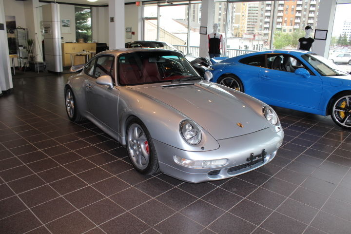 1996 Porsche 911 Twin Turbo Polar Silver