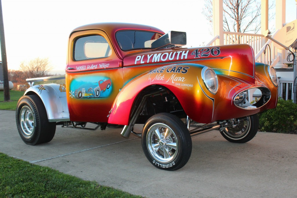 1941 Willys Mura Bros. Famous Show Truck