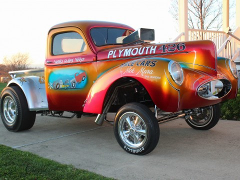 1941 Willys Mura Bros. Famous Show Truck for sale