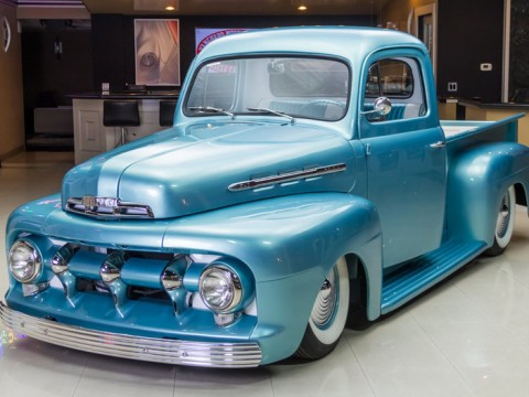 "1951 Ford ""F1"" Custom Pickup for sale"
