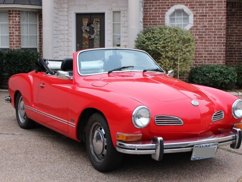 1972 Volkswagen Karmann Ghia Convertible for sale