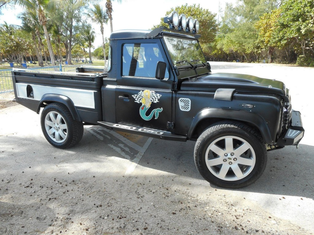 1984 land rover defender 110 pick up for sale. Black Bedroom Furniture Sets. Home Design Ideas