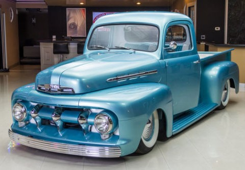 "1951 Ford ""F1"" Pickup Custom for sale"