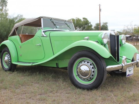 1952 MG TD Frame Off Restoration for sale