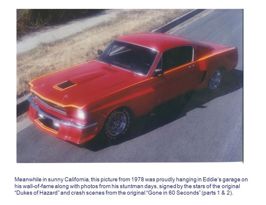 1965 Ford Mustang Fastback Wide body (Hot Rod Magazine Project Circa 1979)