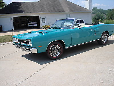 1969 Dodge Coronet R/T Factory HEMI Convertible for sale