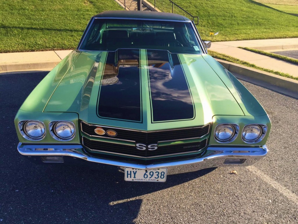 1970 Chevrolet Chevelle SS 396 #'s Matching Fac A/C Documented