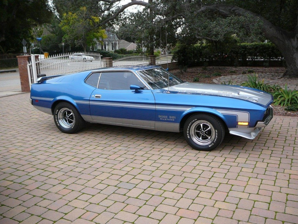 1971 FORD Mustang BOSS 351 Genuine R CODE Survivor