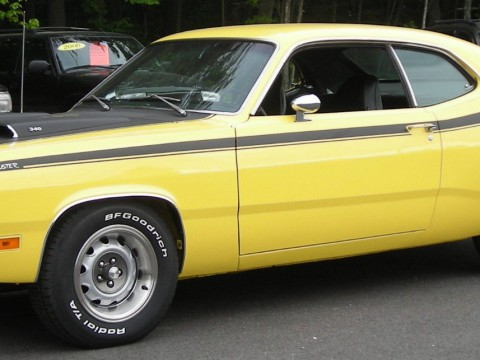1971 Plymouth Duster 340 in Lemon Twist for sale