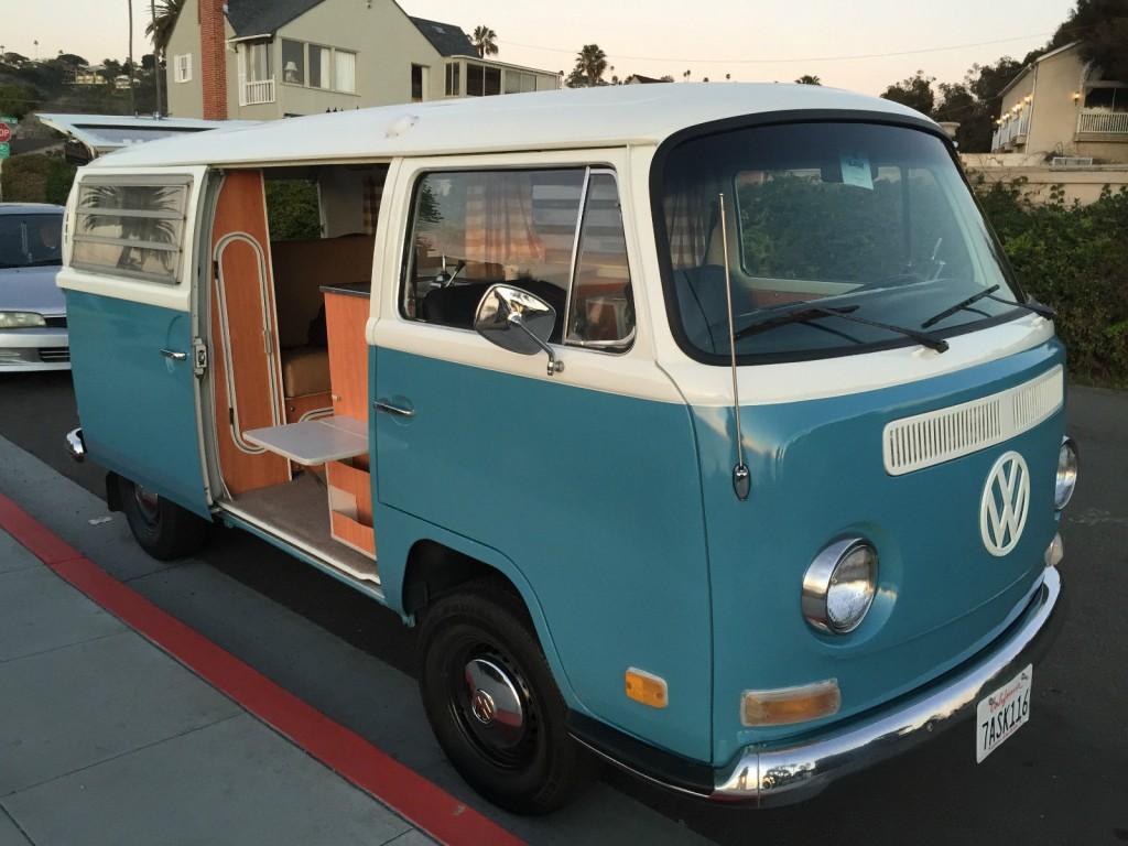 1971 vw bus westfalia camper weekender beautiful originally restored for sale. Black Bedroom Furniture Sets. Home Design Ideas