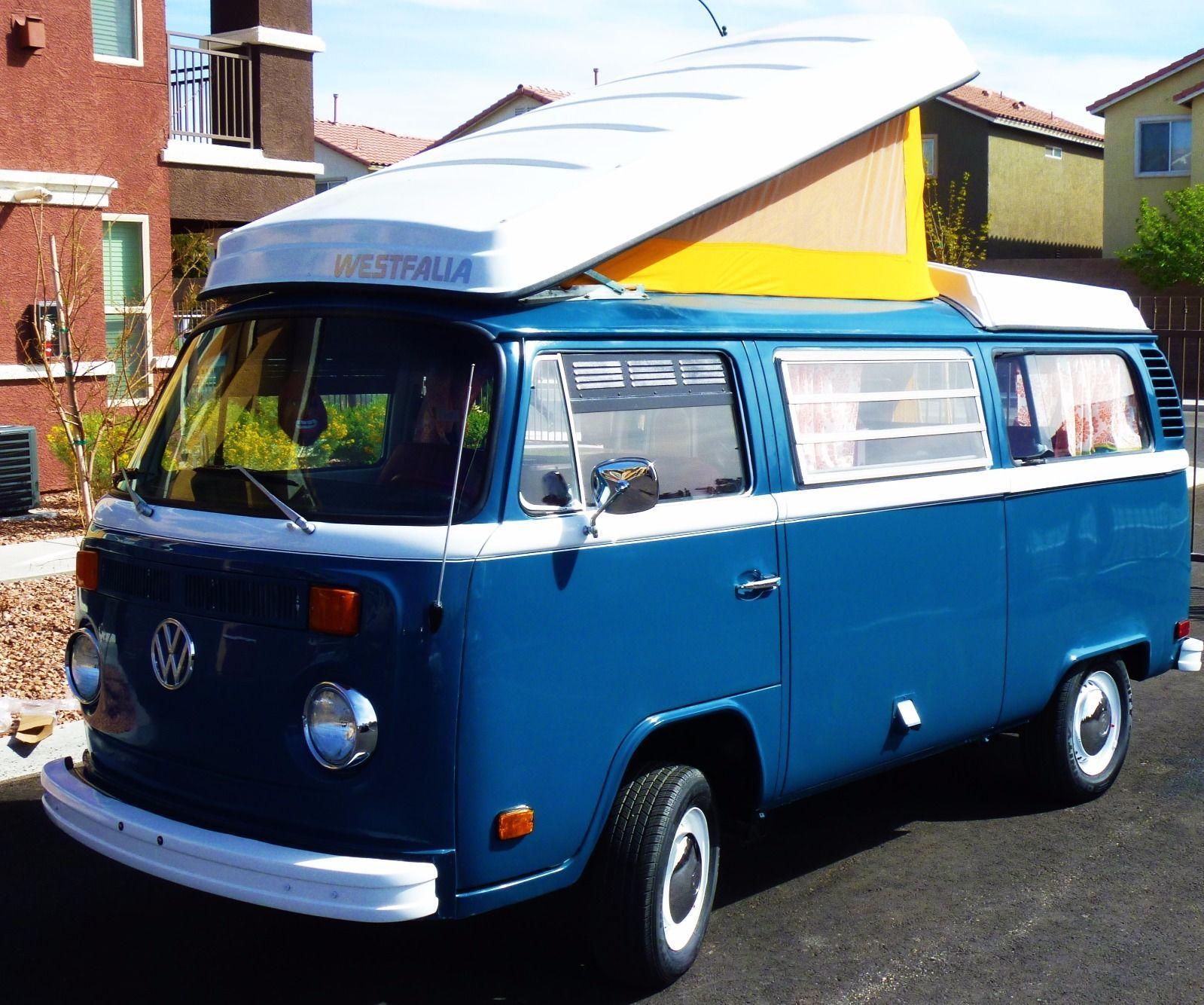 1973 Volkswagen Bus Westfalia Type 2 Campmobile for sale