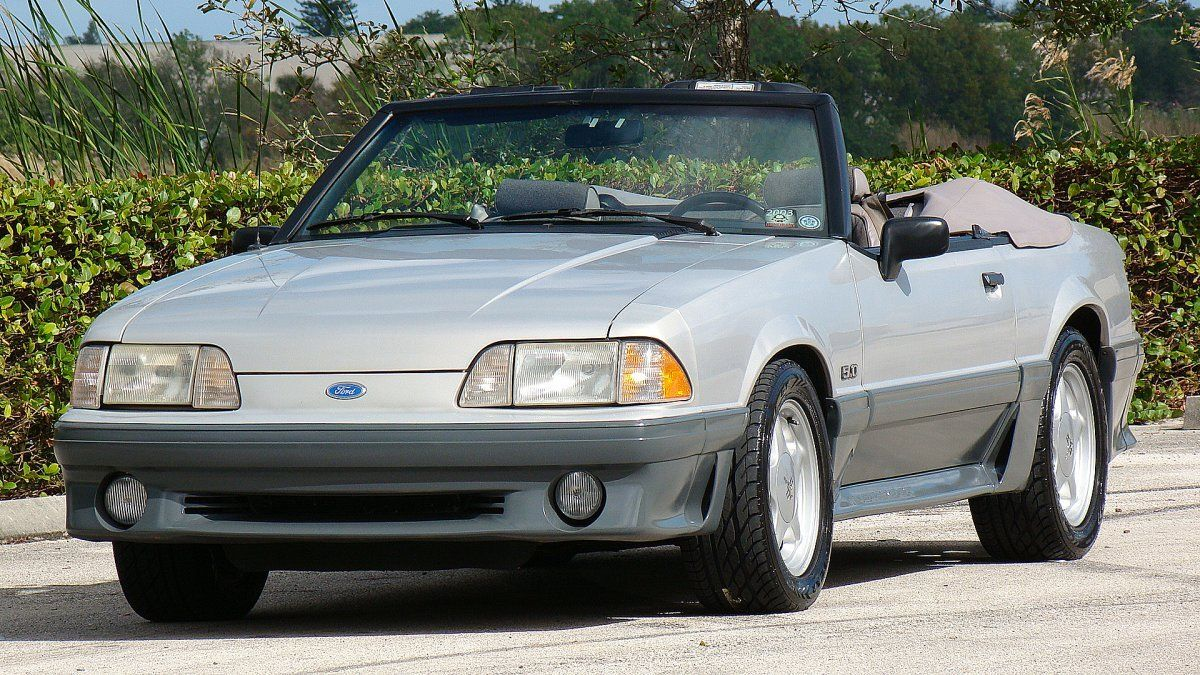 1991 ford mustang gt convertible for sale. Black Bedroom Furniture Sets. Home Design Ideas