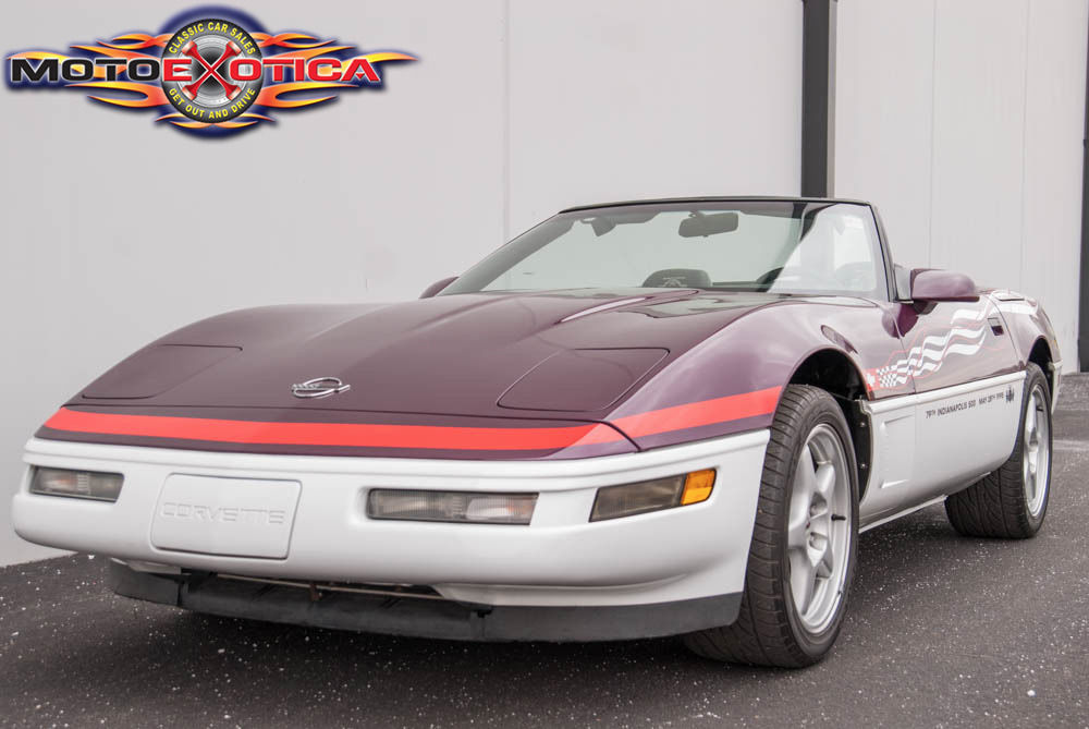 1995 chevrolet corvette pace car convertible for sale. Black Bedroom Furniture Sets. Home Design Ideas