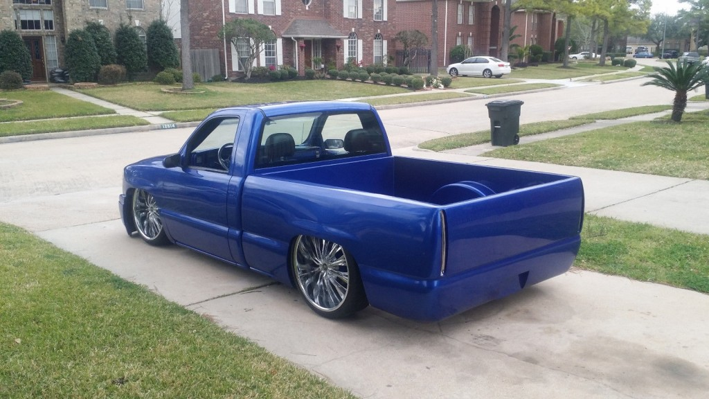2000 Gmc Sierra Single Cab Custom For Sale