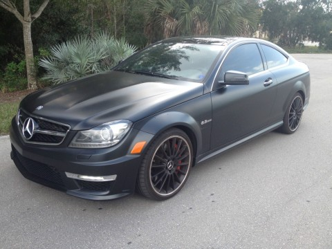 2012 Mercedes Benz C63 AMG Coupe with P88 Edition 1 Package for sale
