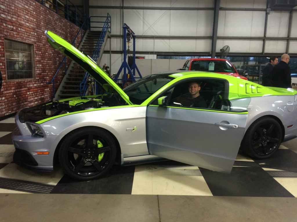 2013 Ford Mustang Roush SEMA Car