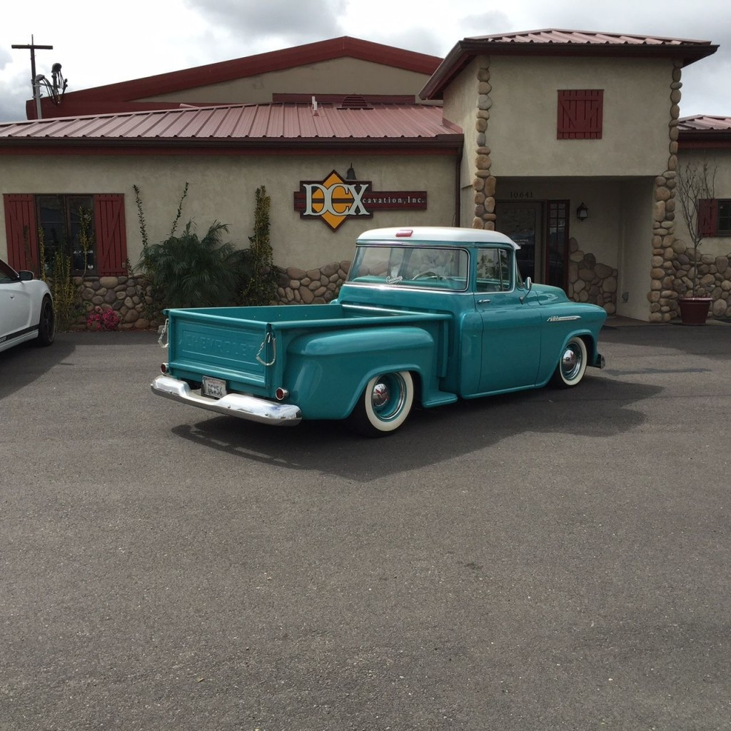 Custom 1956 Chevy 1 2 Ton Truck For Sale