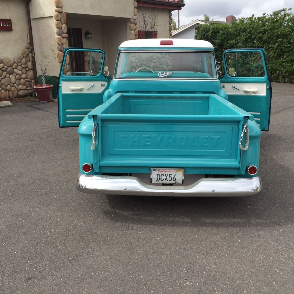 Custom 1956 Chevy 1/2 Ton Truck For Sale