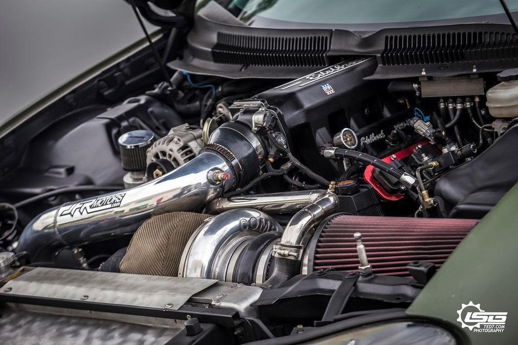 Custom 1999 Chevrolet Camaro Turbocharged 1300 hp