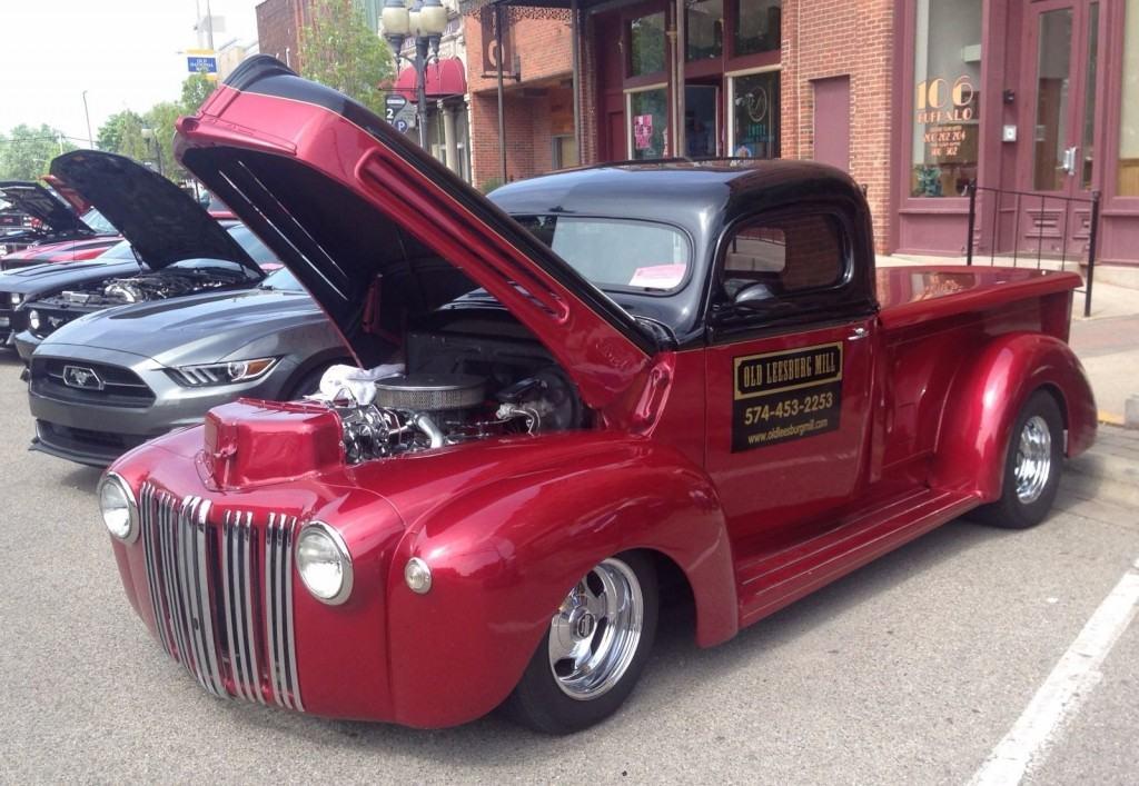 1946 ford pick up truck hot rod for sale. Black Bedroom Furniture Sets. Home Design Ideas