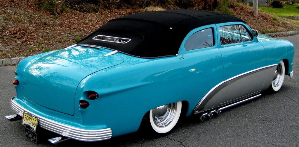1950 Ford Custom Chopped Street Rod For Sale