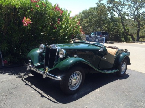 1953 MG TD Full off frame restoration for sale
